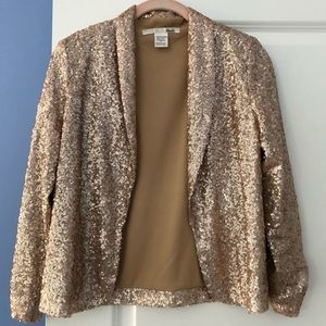 Ellison champagne gold sequin jacket
